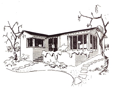 Scheme for a house at Mount Eliza