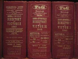Sands & McDougall Directory of Victoria